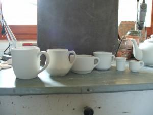 bögrék csészék